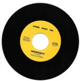 Paula Clarke - University / version (Living Music Inc.) 7""